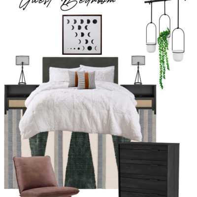 How to Create a Welcoming Guest Room + 2 Mood Boards
