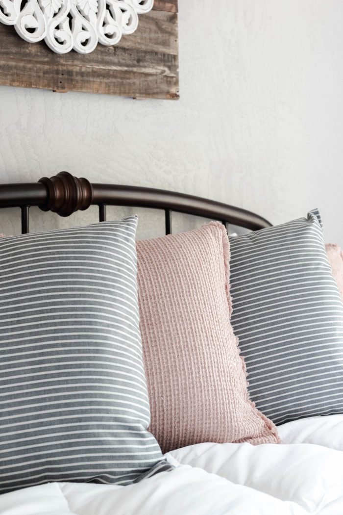Cozy Bedding for a welcoming guest room.