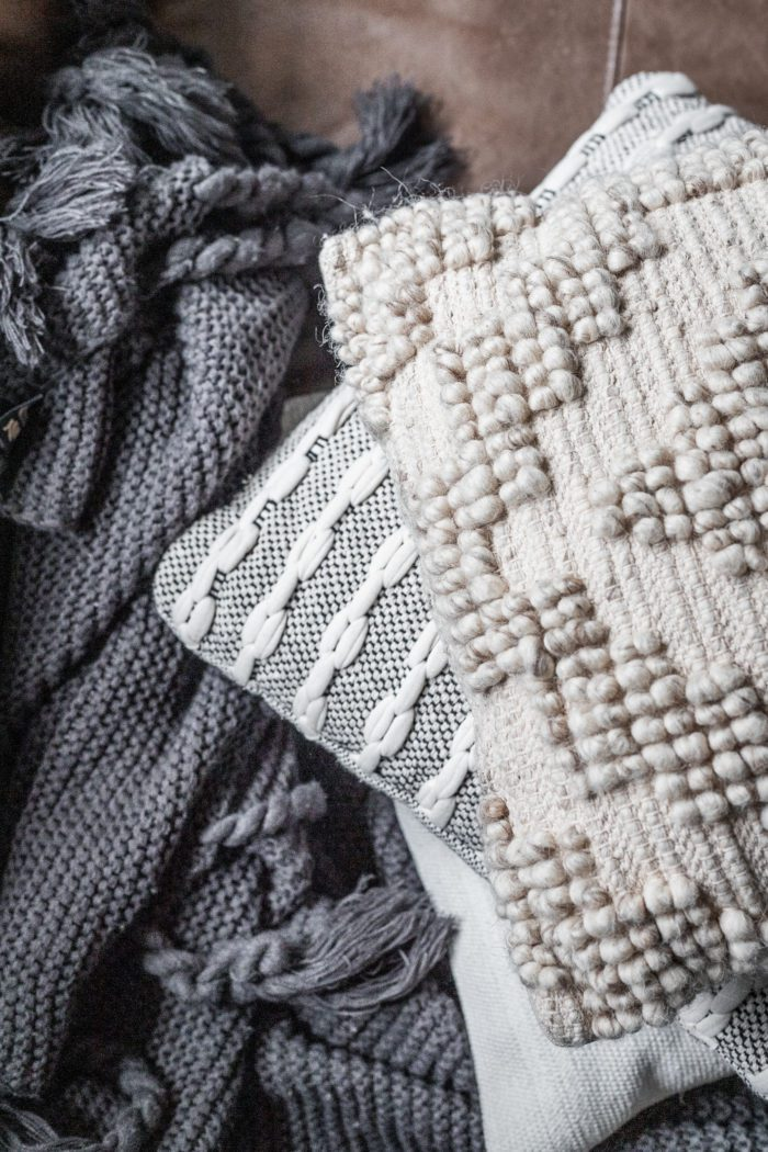 Cozy textures, perfect for creating a Fall Vibe